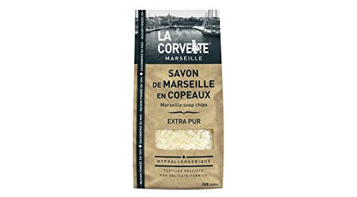 La Corvette Sachet de Savon de Marseille en Copeaux Extra Pur Ecocert 750 g