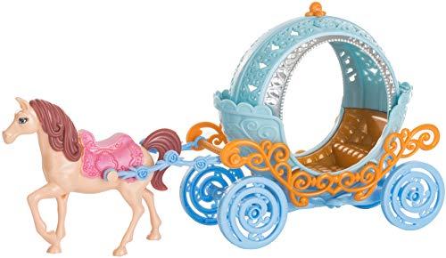 Brandsseller Prinzessinen Kutsche mit Pferd Spielzeugkutsche Märchenkutsche Hellblau