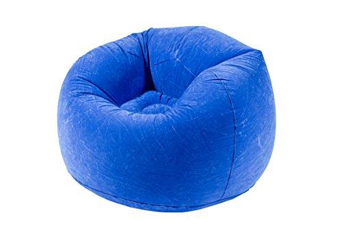 CAD 638Pouff Poltrona Unisex Adulto, Blu