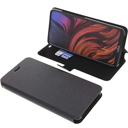 foto-kontor Tasche für TP-Link Neffos X20 Book Style schwarz Schutz Hülle Buch