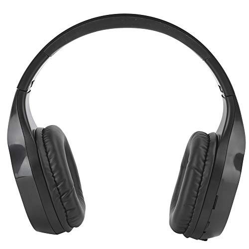 Socobeta Auriculares retráctiles con textura suave, auriculares Bluetooth inalámbricos de alta resolución para música de juegos