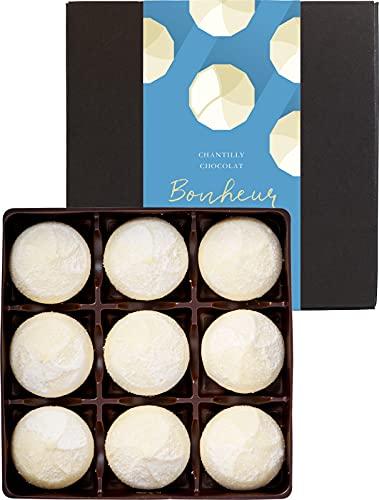 財宝 シャンティショコラボヌールホワイト 生チョコ トリュフ 9個 × 1箱