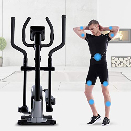 YAMMY 3 in 1 Professional Elliptical Cross Trainer, Cardio Home Office Fitness Workout Machine with Quiet Brake System for All Ages Max User Weight 150 Kg 6