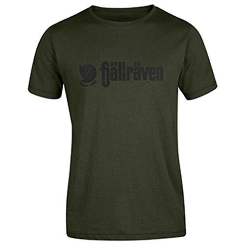FJÄLLRÄVEN T-Shirt à Logo pour Homme S Olive