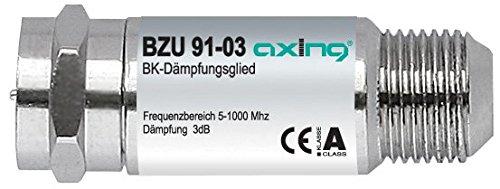 Axing BZU 91-03 BK-Dämpfungsglied (5-1006MHz, 3 dB)