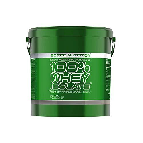Scitec Nutrition 100% Whey Isolate con l'aggiunta di L-Glutammina extra, 4 kg, Cioccolato