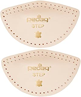 Pedag Step 16647 Symmetrical Self Adhesive Arch Support Inserts, Tan Leather, Medium