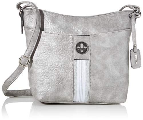 Rieker Damen Handtasche H1329, Grau (Silbergrau), 250x110x330 cm