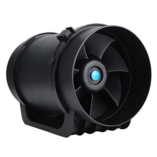 8-Zoll-EC-Motor Einstellbare Drehzahl 760CFM-Lüfterzubehör Inline-Kanal-Drehzahlregler Lüftungsventilator für öffentliche Räume für Konferenzräume(220V)