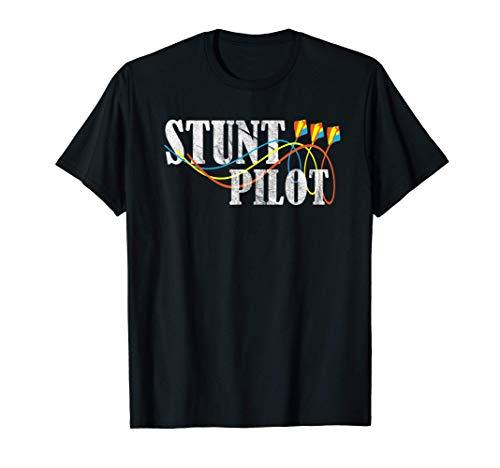 Stunt Pilot Funny Stunt Kite Flier T-Shirt