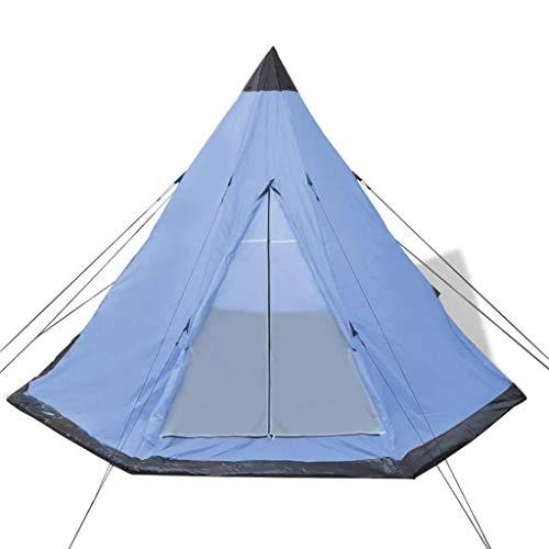 Tienda de Campaña de 4 plazas Impermeable 365 x 365 x 250 cm, Tienda de Camping con...