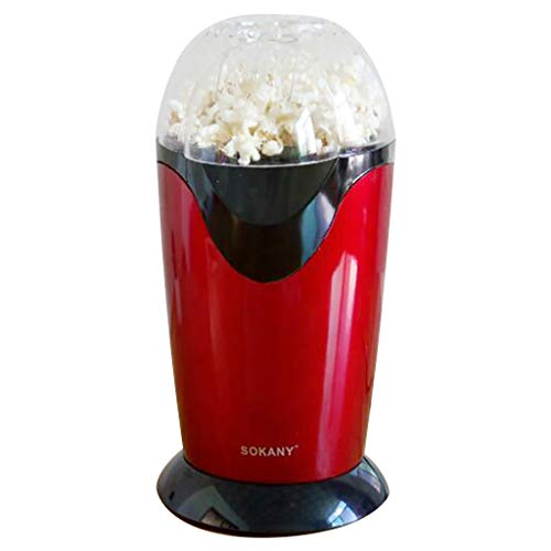 Purchase ErYao Popcorn Maker Machine, Mini Portable Automatic Popcorn Machine Automatic Oil Air Popc...