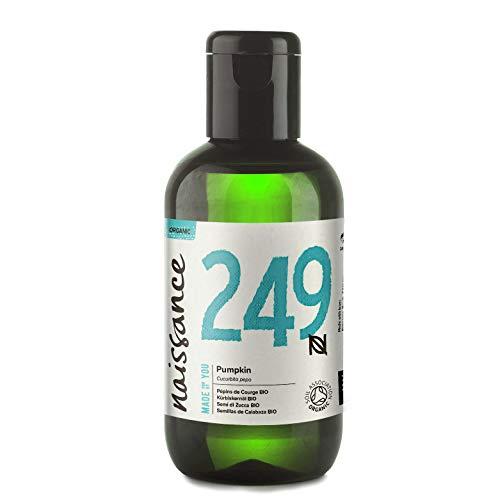Naissance Huile Végétale de Pépins de Courge BIO (n° 249) - 100ml - 100% pure, pressée à froid, vegan et sans OGM