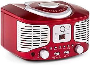 auna - RCD320, Radio CD, Equipo estéreo, Radio de Cocina,