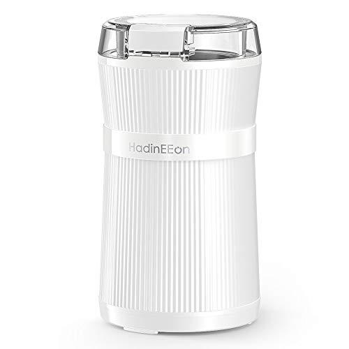 コーヒーミル 2019最新改良版 電動コーヒーミル コーヒーグラインダー ワンタッチで自動挽き コーヒーミル 200Wハイパワー 急速挽く 均一な粉末 電動コーヒーミル 水洗い可能 掃除簡単 コーヒーグラインダー 過熱保護 収納できるコード