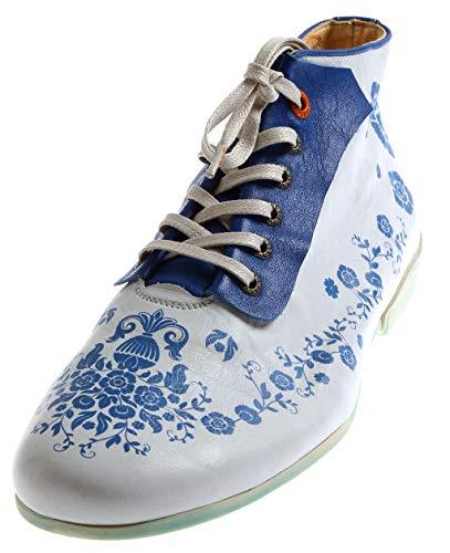 Eject 17653 Juno High Damen hoher Schnürschuh Lederschuhe Schuhe Knöchelschuhe Einlagen Mehrfarbig EU 42