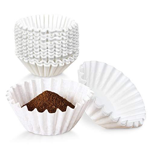 Kaffeefilter für 8 bis 10 Tassen – weißer Bunn 20016 Dekantier-Stil – großer umweltfreundlicher Einweg-Papierkorb für Zuhause, Cafés, Restaurants und Büros, 500 Stück