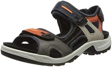 ECCO Men's Yucatan Sport Sandal, Multicolor Fire, 43