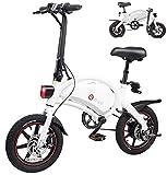 DYU Bicicletta Elettrica Pieghevole,14 pollici Portatile E-bike,Smart Bici Elettrica...
