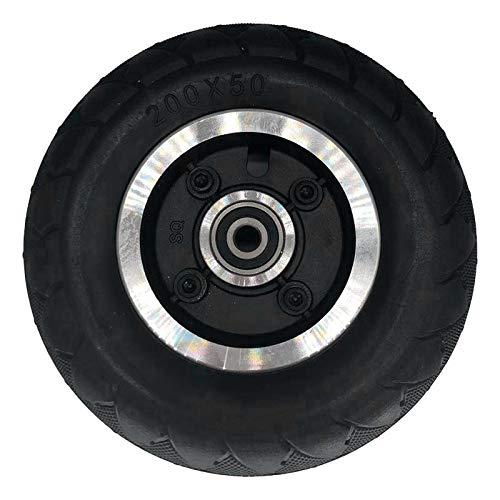 Jcevium Neumático completo sin cámara para patinete eléctrico de 8 pulgadas, rueda...