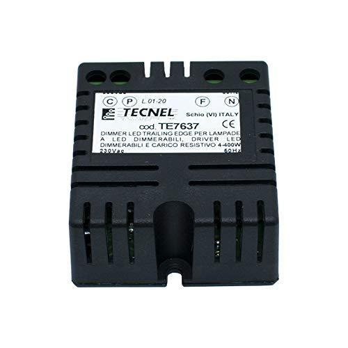 Tecnel TE7637 - Regulador de intensidad para lámparas y tiras LED