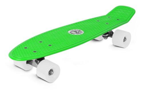 Reaper Skateboard LB Mini Longboard Retro groen