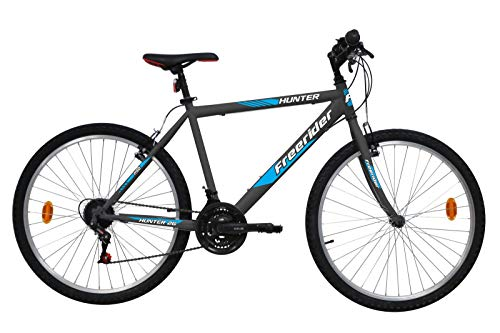 VTT 26' Rigide Homme Hunter- 18 Vitesses - Freins V-Brake
