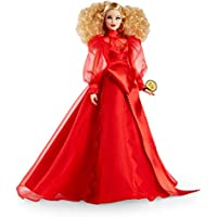 Barbie Collector Mattel 75th Anniversary Doll in Red Chiffon Gown
