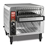 Waring Commercial CTS1000B Conveyer Toaster, 1000+ slices per hour, 208V, 2700W, 6-20 Phase Plug