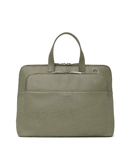 Matt & Nat Vegan Handbags, Cassidy Top Handle Handbag, Matcha (Green)