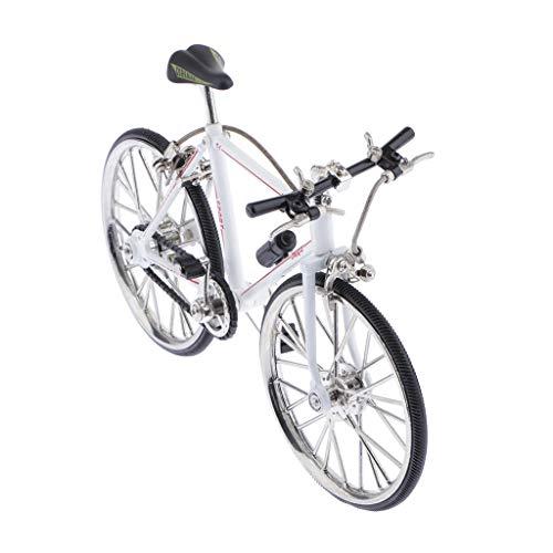 SM SunniMix 1/10 Deko Fahrrad Mountainbike Modell Geldgeschenk Fahrzeugmodell Wohnkultur - Weiß A