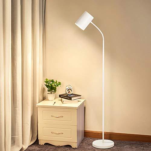 Lámpara LED pie LED Noche Moderna Lujo Simple Creativo Vertical Nivel de energía de la luz de Lectura de protecció