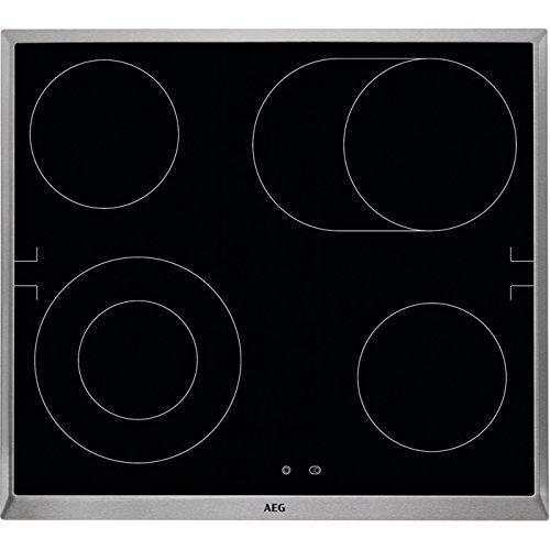 AEG 801409848 Elektroofen Set für Elektro-Küchengeräte, Glas, Schwarz, 1200W, Touch-Bedienung, 57,6 cm, 51,6 cm