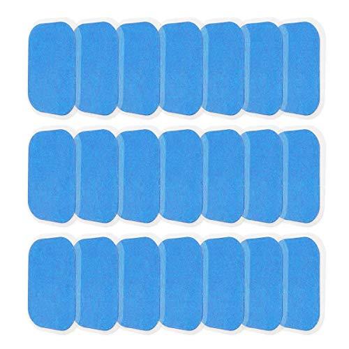 YAOJIN EMS Gel Pad, 40 STK Gel Pad für EMS Muskelstimulator Ersatzteile für Bauchmuskulatur-Geräte/Elektrischer Muskelstimulation,40x60mm