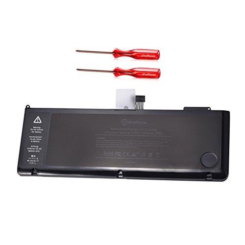 iProPower A1382 Batteria per Apple Macbook Pro 15' A1286 (SOLO per Precoce 2011 Fine 2011 Metà 2012) Unibody MacBook Pro 15 Batteria di Ricambio