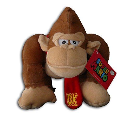 Super Mario Bros - Peluche Donkey kong 21cm Qualité super soft
