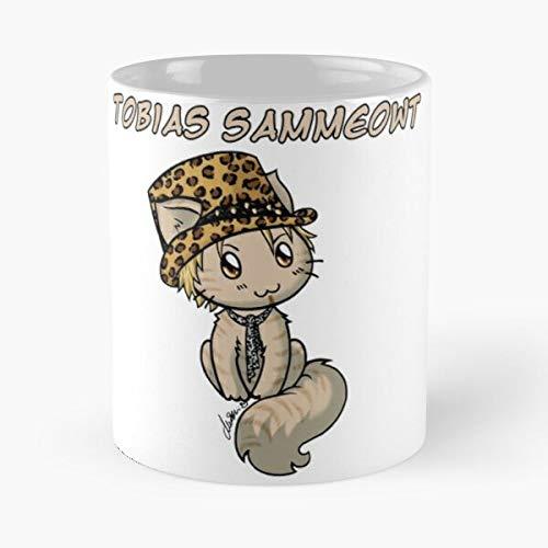 Hockey Avantasia Metal Edguy Cute Sammet Power Band Sammeowt Cat Tobias Best 11 oz Kaffeebecher - Nespresso Tassen Kaffee Motive