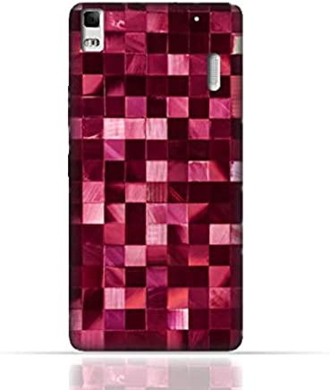 Lenovo A7000/Lenovo K3 Note TPU Silicone Case With Glamour Disco Squares Design