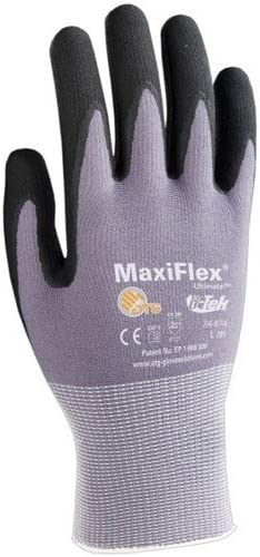 Maxiflex 34-874 Large Ultimate Super Special SALE held Genuine Free Shipping Gloves Pairs Pkg 12