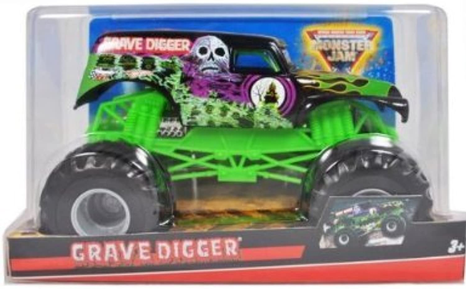 Grave Grave Grave Digger 1 24 Scale (Large Truck) Hot Wheels