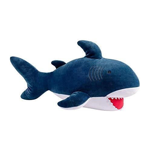 QWXINXING Almohada Muñeca Miniso Cute Shark 22 Pulgadas