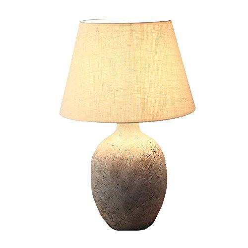 LIYONG Lámpara De Mesa Salón Lámpara De Mesa Lámpara De Noche Dormitorio LOFT Lámpara De Mesa De Cemento Creativo