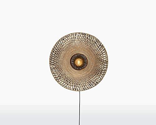 KALIMANTAN - Lámpara de pared (bambú, extra pequeña)