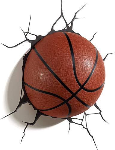 HHORD Basketball Lichter, 3D Light Sports Basketball, Kreative Wandleuchten, LED-Geschenke, Nachtlichter, Kindergeburtstagsgeschenke