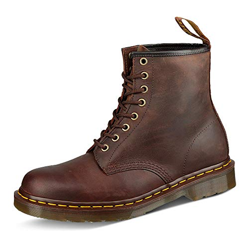 Dr. Martens 1460Z DMC CH-GO, Unisex-Erwachsene Combat Boots, Braun (Gaucho), 39 EU (6 UK)