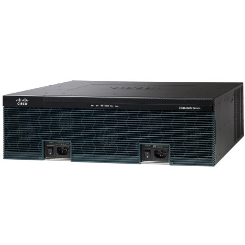Cisco 3945 Voice Bundle Router (Sprach-/Faxmodul, Gigabit Ethernet)