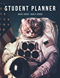 Commander Whiskers Daily Student Planner