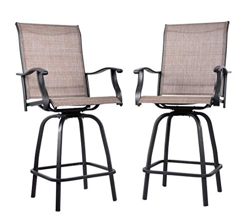 MERIT Outdoor Swivel Bar Stools