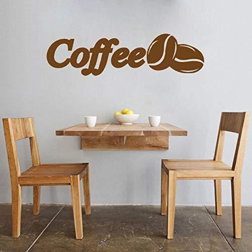 Muursticker cafe muursticker citaten muurtattoos koffie winkel kunst wandversiering koffiebonen keuken zelfklevend afneembaar