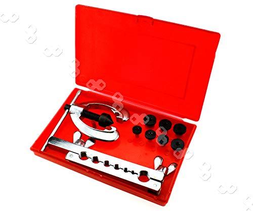 Bördelwerkzeug Bördelgerät Bremsleitung bördeln Bördelgerät Auto Fix Tool Set Werkzeug Bördel Werkzeug